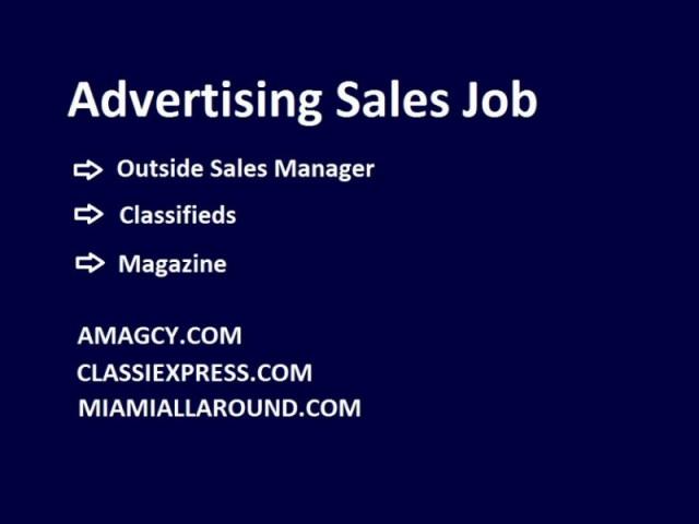 Advertising Sales Job