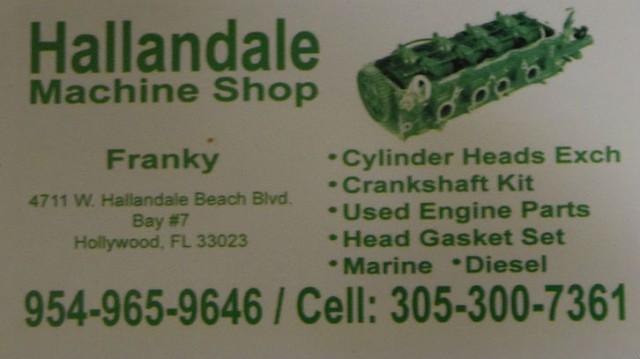 Hallandale Machine Shop