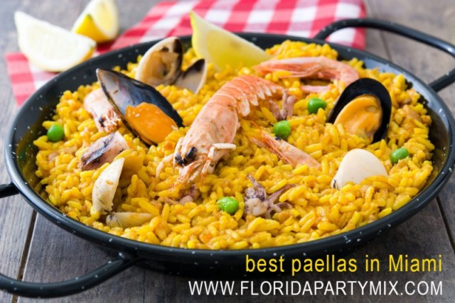 Best Paellas Miami