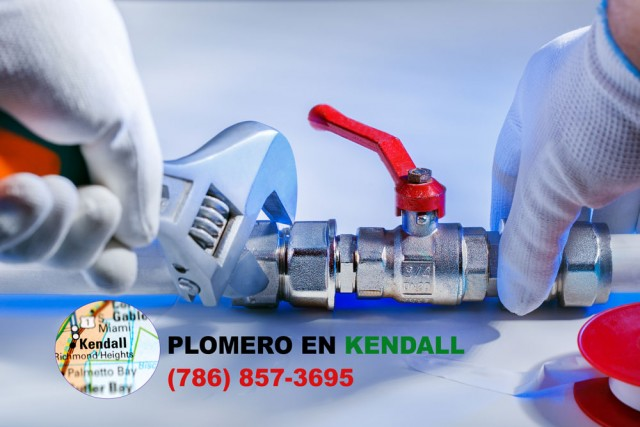 Plomero en Kendall (786) 857-3695
