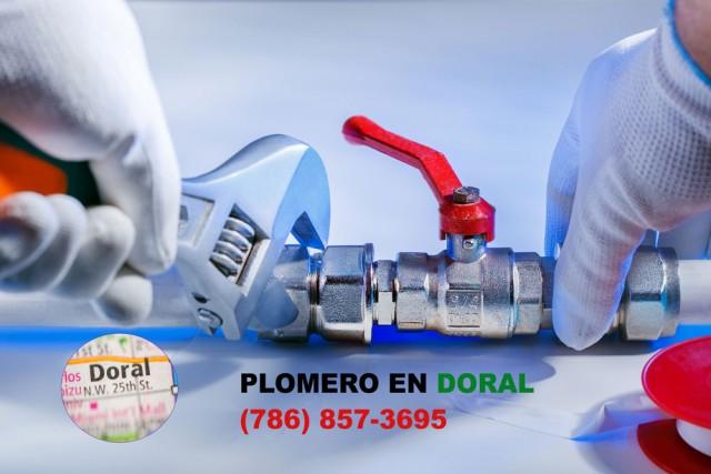 Plomero en Doral (786) 609-1889
