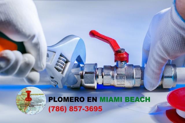 Plomero en Miami Beach (786) 609-1889