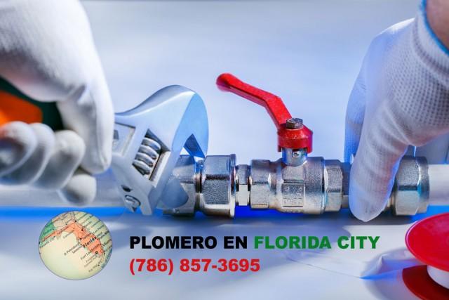 Plomero en Florida City (786) 857-3695
