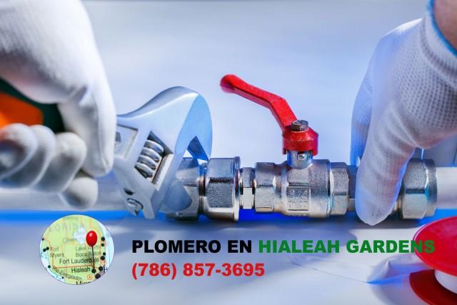 Plomero en Hialeah Gardens (786) 857-3695