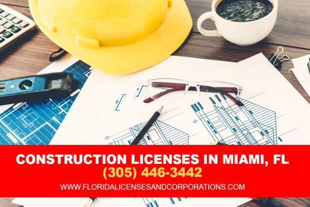 Construction licenses in miami, Florida