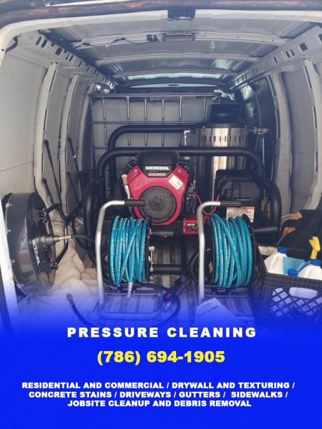 Pressure Cleaning in Miami - (786) 694-1905