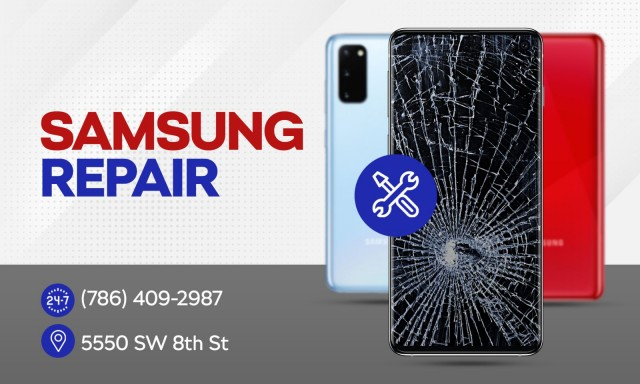 Samsung Cell Phone Repair in Coral Gables
