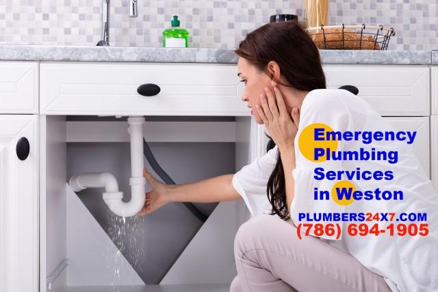 Emergency Plumbing Services in Weston - (786) 694-1905