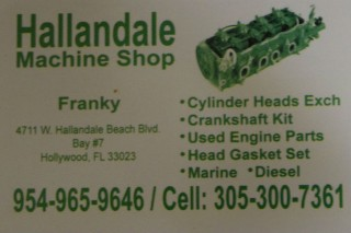Hallandale Machine Shop