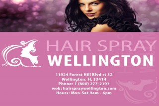 Hair Spray Salon Wellington