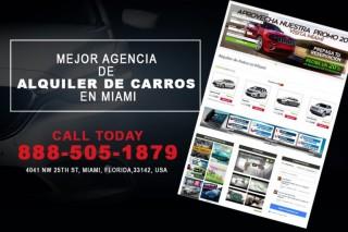5 mejores empresas de alquiler de autos en Miami