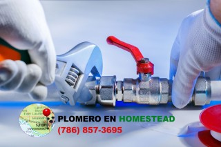 Plomero en Homestead (786) 857-3695