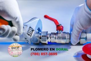 Plomero en Doral (786) 857-3695