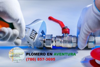 Plomero en Aventura (786) 857-3695
