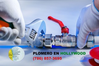 Plomero en Hollywood (786) 609-1889