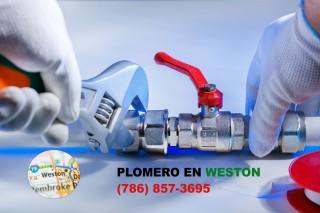 Plomero en Weston (786) 857-3695