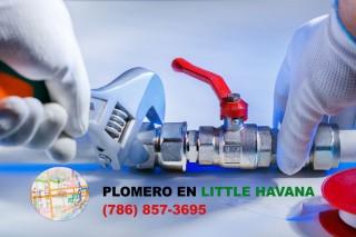Plomero en Little Havana (786) 857-3695