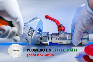 Plomero en Little Haiti (786) 857-3695