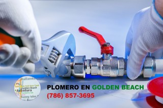 Plomero en Golden Beach (786) 857-3695