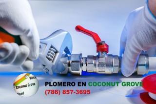 Plomero en Coconut Grove (786) 857-3695