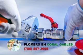 Plomero en Coral Gables (786) 609-1889