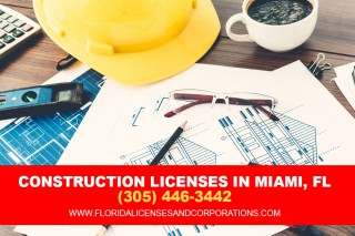 Construction licenses in miami, Florida