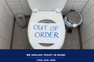 Unclog Toilet in Miami - 305 440-0878
